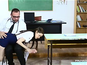 intimate anatomy lesson for the insatiable college babe
