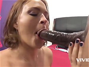 Krissy Lynn Gets A hard big black cock In Her muff