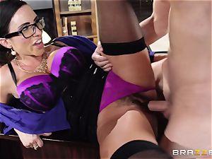 Ariella Ferrera takes a dose from Danica Dillans guy