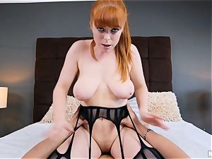 tiny crimson head Penny Pax gets what she wants