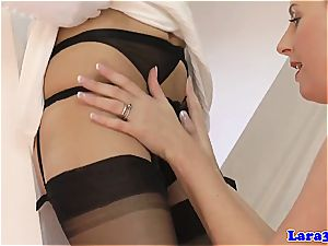 Nylons and high heels galore