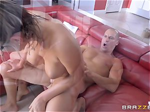 lubricated up August Ames