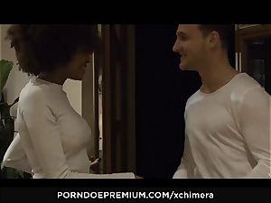 xCHIMERA - Luna Corazon erotic fetish romp session
