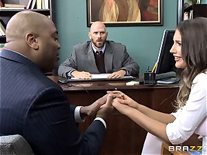 delectable August Ames gets humped by the dean