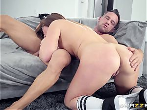 Maddy OReilly plowed firm by Johnnys rock hard chisel