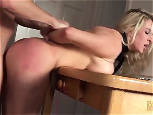 PASCALSSUBSLUTS - Victoria Summers fed jizz and domination & submission