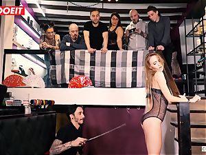 LETSDOEIT - Kira Gets raunchy torture at bondage & discipline soiree