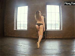plump pallid gymnast Rita