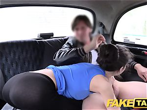 fake taxi Russian hairy cootchie innate boobs