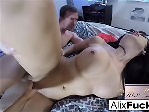 sizzling first-timer three-way with Alix Lynx and Jaclyn Taylor