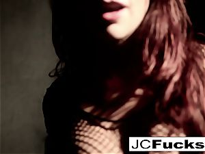 An artful view into how Jayden Cole makes herself jism