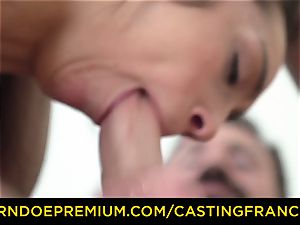 audition FRANCAIS - unexperienced beauty banged and spunk adorned