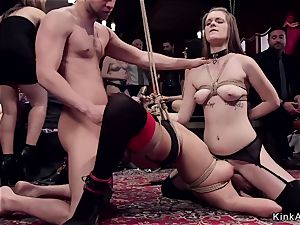 sybian saddle riding and gang rectal plowing