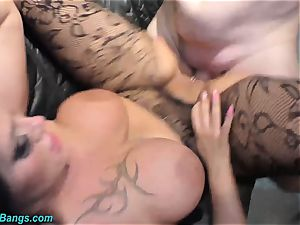 Ashley cum star in mischievous bang-out