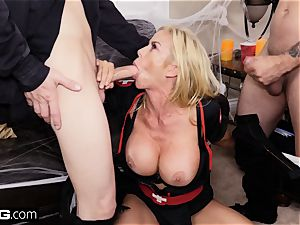 penetrate Confessions Alexis gives stepson a Halloween handle