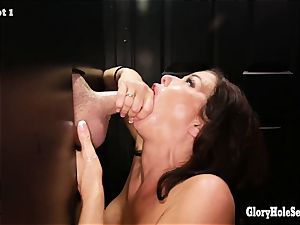 Gloryhole Secrets Veronica Avluv total of pleasure gel