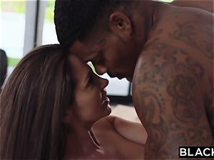 BLACKED milf only fucks big black cock