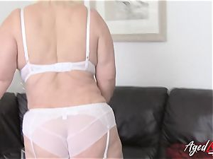 AgedLovE huge-boobed Lacey Starr hardcore and blowage