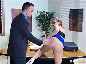 Britney Amber getting pulverized in her bootie and cooter