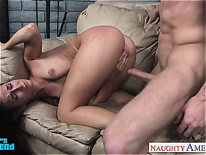 hotty Cassidy Klein torn up in her diminutive hole