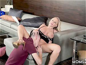 ash-blonde milf screws neighbor naughty Step mummy Gets stuffed