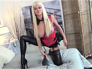 domina Nikita tells you what she wants to do to you