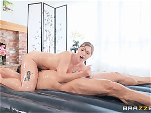 rapid hatch drilling nuru rubdown with Ella Nova