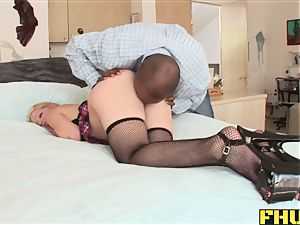Fhuta Pinky fucktoy and real bbc in the booty