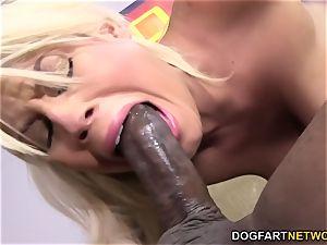 Bridgette B gets anal from big black cock