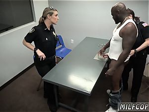 Police girl cab and platinum-blonde insane milf slut xxx cougar Cops