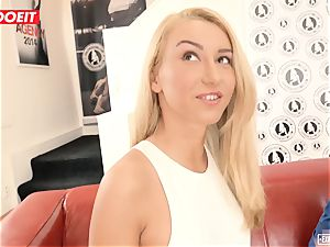 Katrin Tequila smashed hardcore on her very first audition