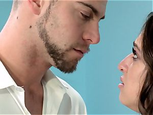 Reunited Sn five Sara Luvv gets a mouth-watering poking from her ex