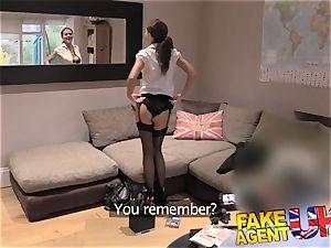 fake Agent UK european honies peachy bootie fingerblasted and pummels
