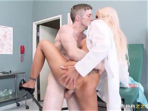 huge spilled physician Nina Elle entices her favourite patient