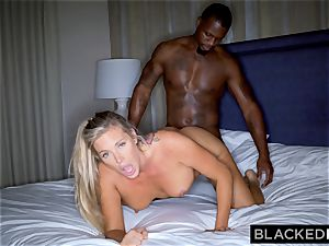 BLACKEDRAW platinum-blonde trophy wife Cucks Her spouse With big black cock