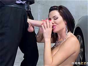insatiable mature Veronica Avluv leaned over and ravaged