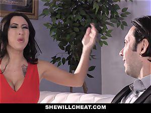 SheWillCheat - mega-slut wifey butt ravaged by friend