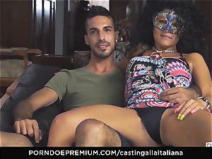 audition ALLA ITALIANA unexperienced sploogs in ass-fuck fuck
