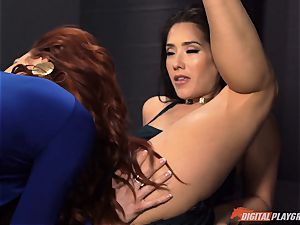 pussy munching galore with nasty Jayden Cole and Eva Lovia