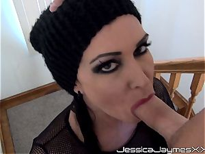crying Jessica Jaymes gasping on long prick