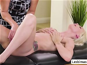 India Summer and Elsa Jean reach their hottest ejaculation ever