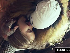 TEENFIDELITY Lily Ford Creampied By a Clown