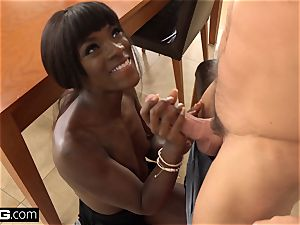 fuck Confessions Ana Foxxx bangs her step bro's wood