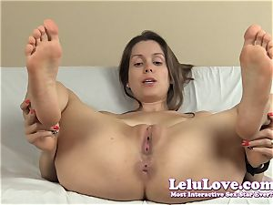 opening up my slit and butt-hole with lots of soles and...