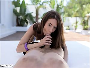 A young lady gets her slit firm penetrating