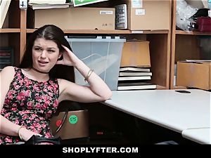 Shoplyfter - A rock-hard nail punishment For Rebelious teenager