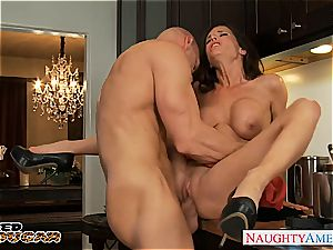 sizzling mummy Veronica Avluv gets enormous melons banged
