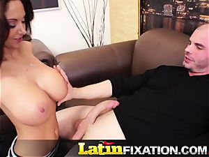LatinFixation Ava Addams swallow fleshy jism