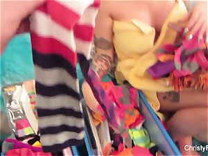 Behind the sequences fun with Christy Mack