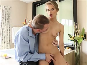 wonderful babe Jillian Janson torn up in her wondrous cunny and her caboose pie